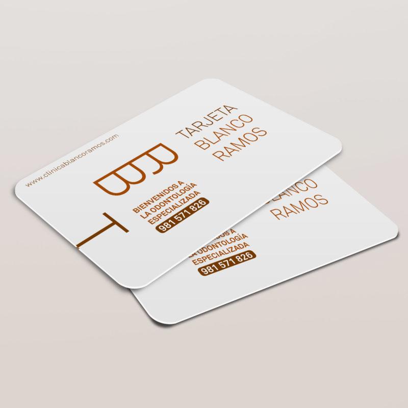 tarjeta citas blanco ramos niños